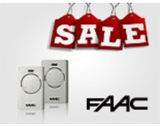 Скидка на брелоки-передатчики Faac XT2 868 МГц, Faac XT4 433 МГц и XT4 868 МГц до 30%!