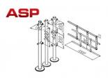 Конструктивное изменение фланцев у стоек ораждений производства компании АСП