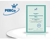 Сертифицированный торговый партнер PERCo