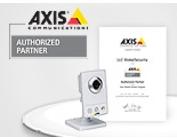 Статус авторизованного партнера компании Axis Communications