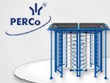 Новая линейка сдвоенных полноростовых турникетов PERCo-RTD-20