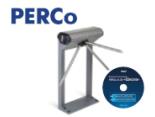 Поступила в продажу биометрическая электронная проходная PERCo-KT02.9B в комплекте с ПО